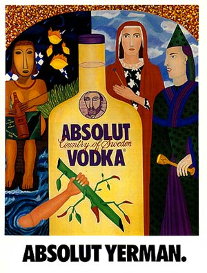 Absolut Artist Painting